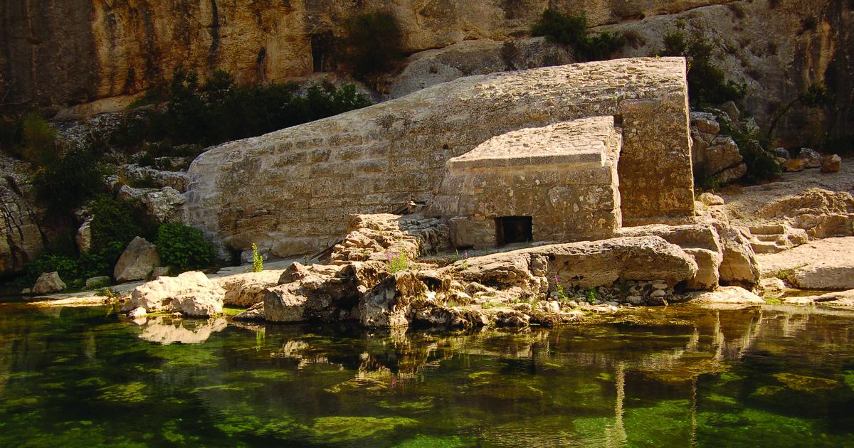 Moulin de la Barque renversée après restauration - La Baume - Sanilhac