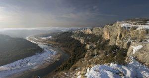 Le Gardon sous la neige - 2010
